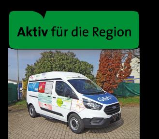 Aktiv für die Region