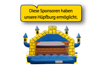Sponsoren Hüpfburg