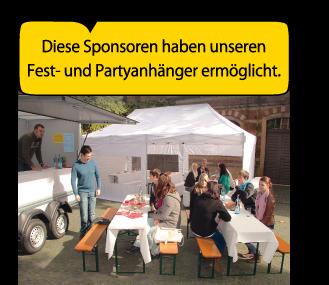 Partyanhänger / Festanhänger in Lübeck