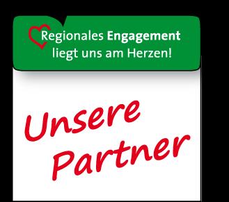 Regionales Engagement unserer Partner - Logo