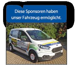 Sponsoren-Farhzeug/