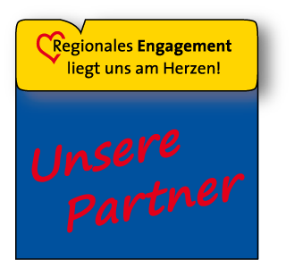 Regionales Engagement: Unsere Partner
