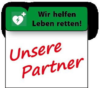 Wir helfen Leben retten: Unsere Partner.
