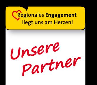 Regionales Engagement liegt uns am Herzen - Unsere Partner